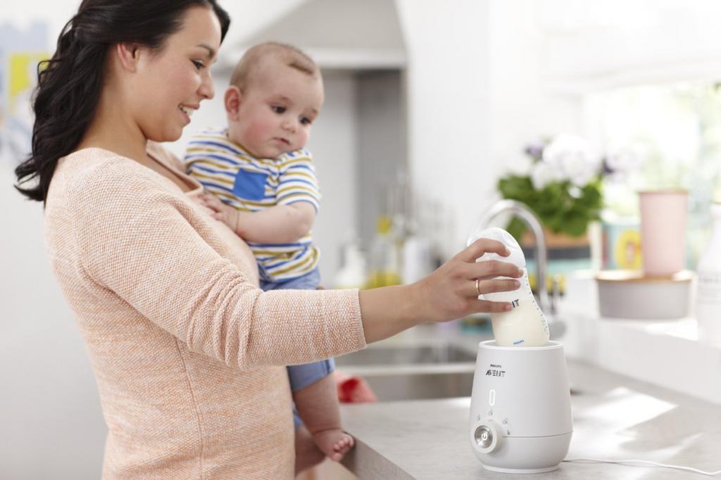 روش آب کردن یخ و حرارت دادن شیر مادر