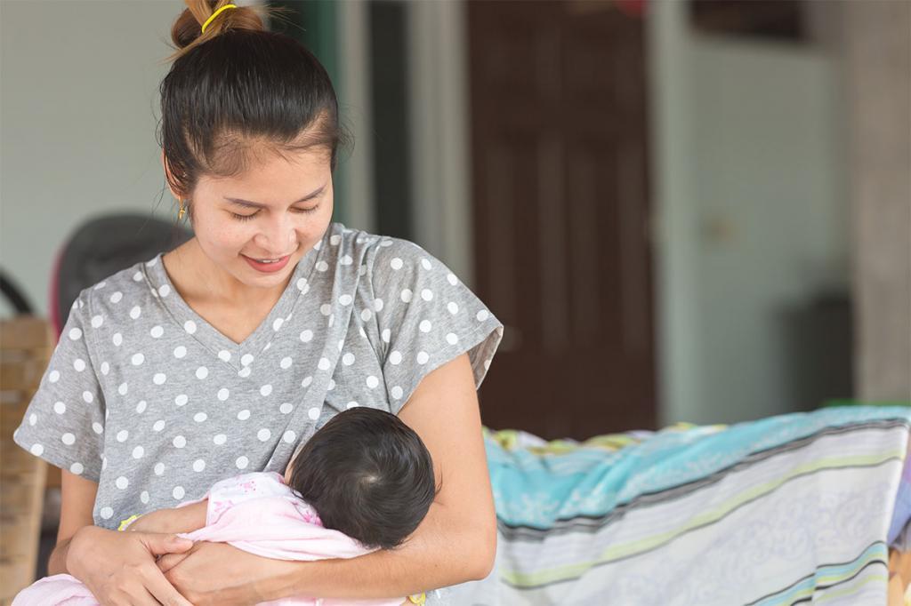 نکاتی مهم درباره شیردهی نوزادان