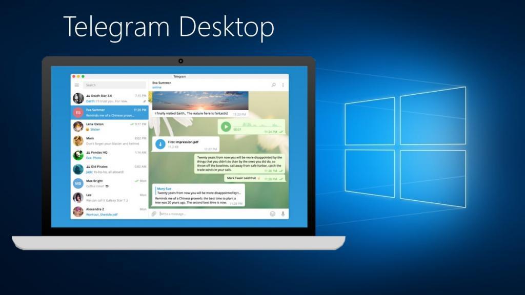 تلگرام دسکتاپ؛ دانلود تلگرام برای کامپیوتر