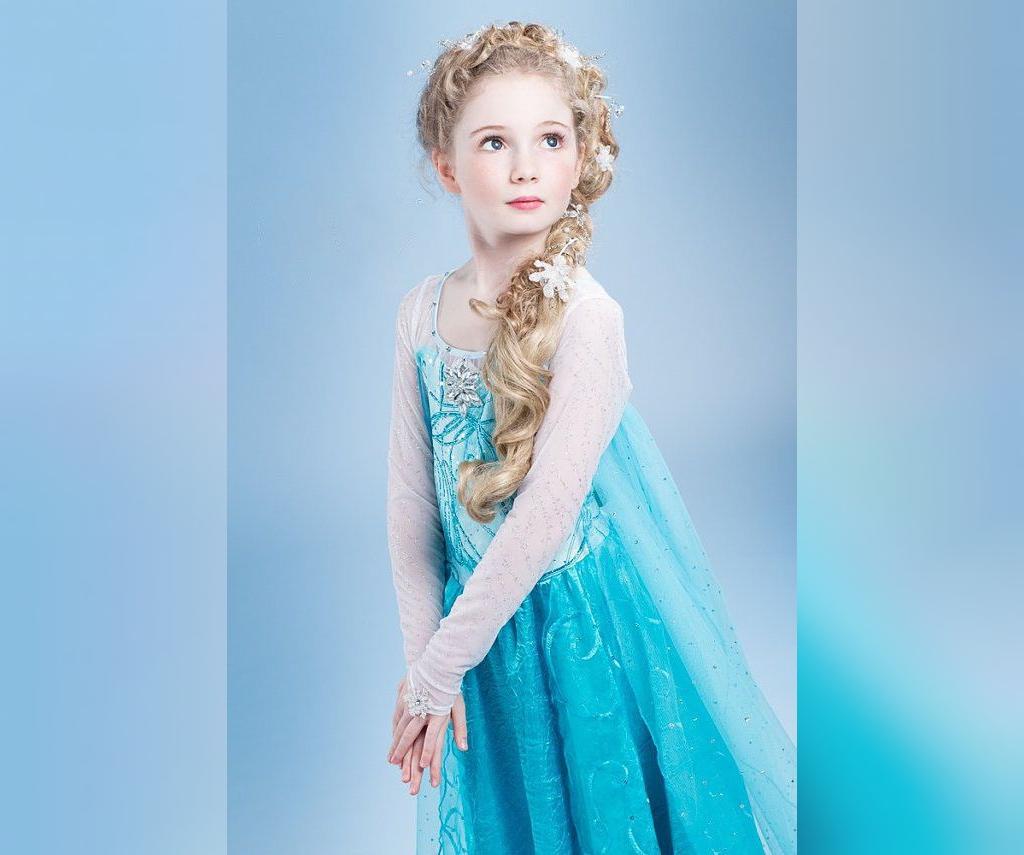 مدل لباس السا دخترانه