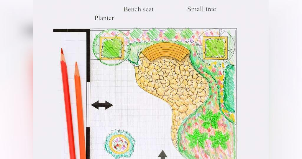 طراحی باغچه روی پشت بام