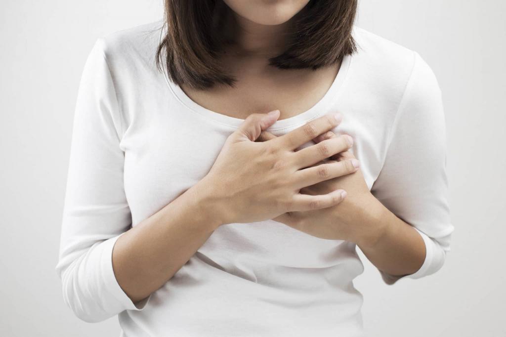 حساسیت سینه یکی از علائم تخمک گذاری موفق
