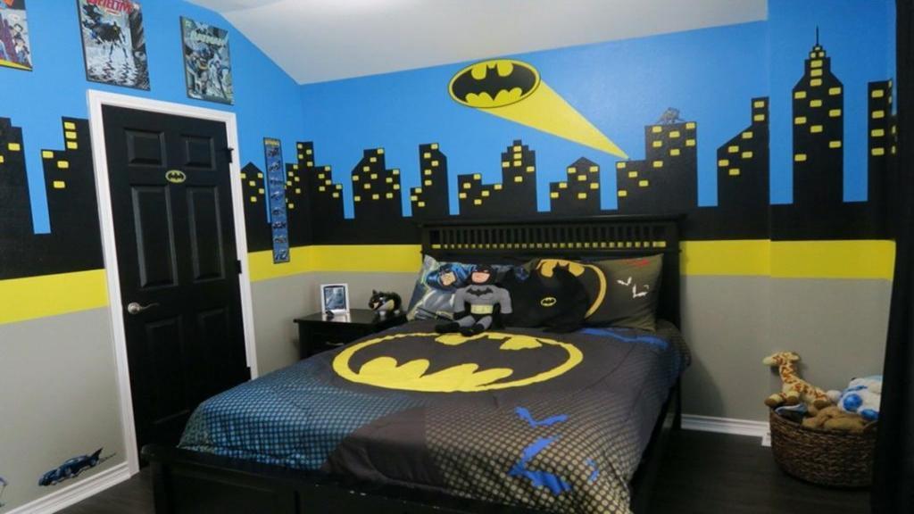 چطور با کمترین هزینه، اتاق خواب کودک را با تم بتمن تزئین کنیم