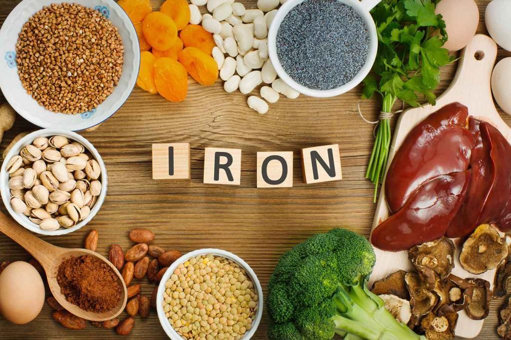 مواد غذایی حاوی آهن روش جلوگیری از یبوست