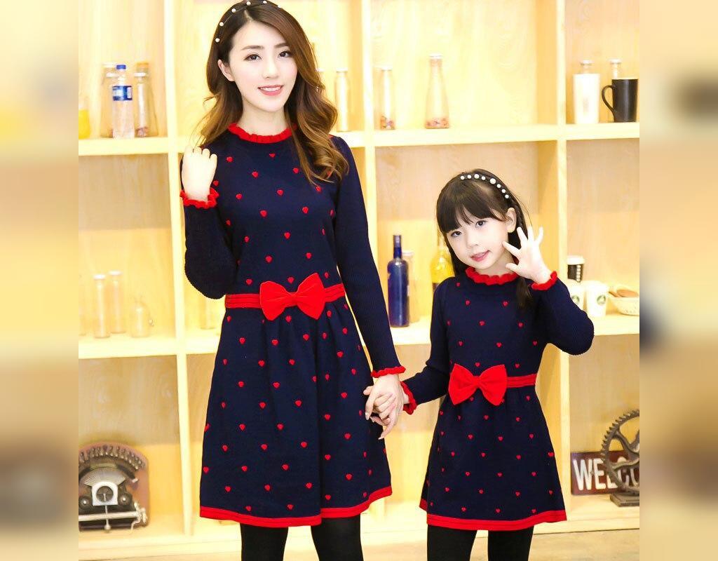 ست لباس مادر و دختر: ست سارافون