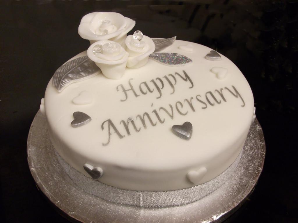 کیک سالگرد ازدواج مبارک