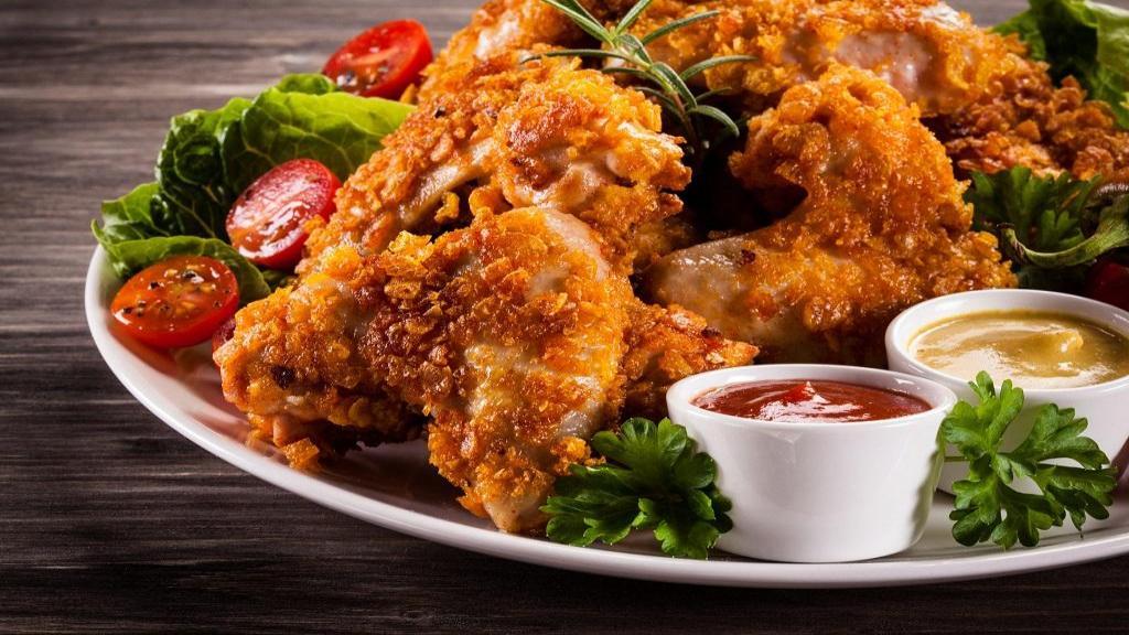 طرز تهیه مرغ سوخاری خوشمزه و پفکی رستورانی بدون فر در خانه