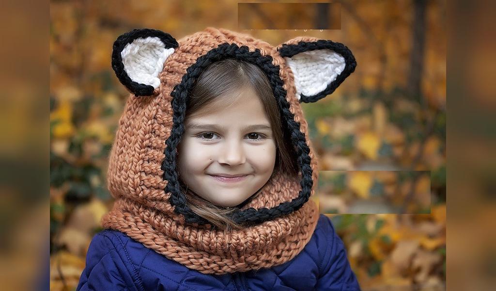 مدل روسری بچگانه فانتزی