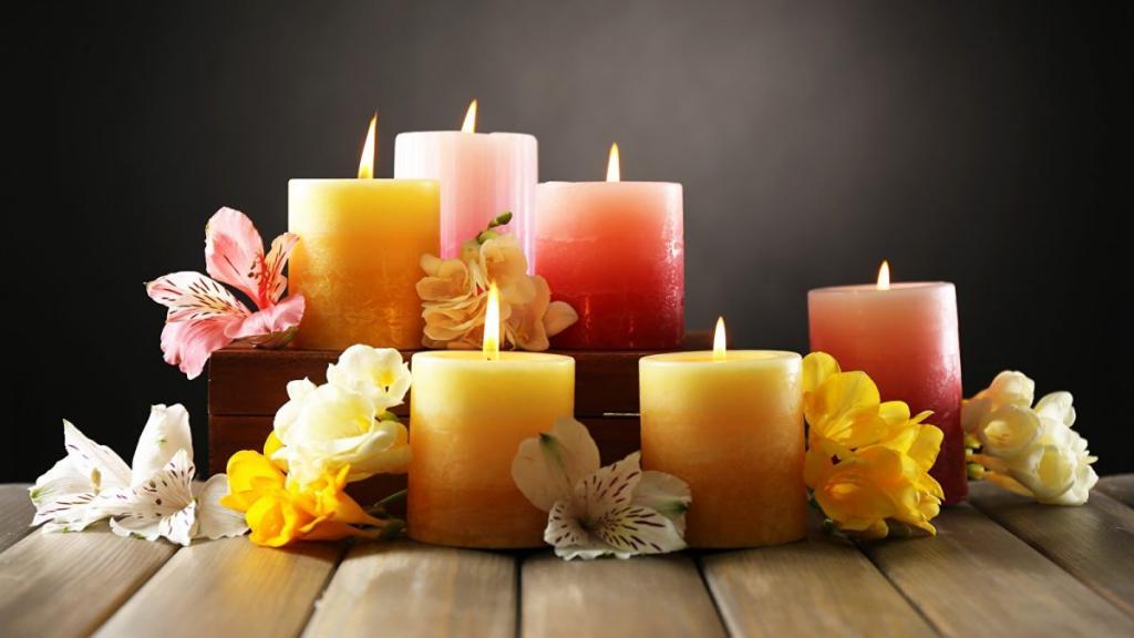 لوازم مورد نیاز برای تهیه شمع
