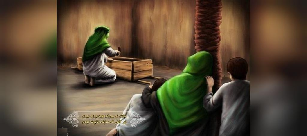 تصویر شب شهادت حضرت فاطمه زهرا سلام الله علیها