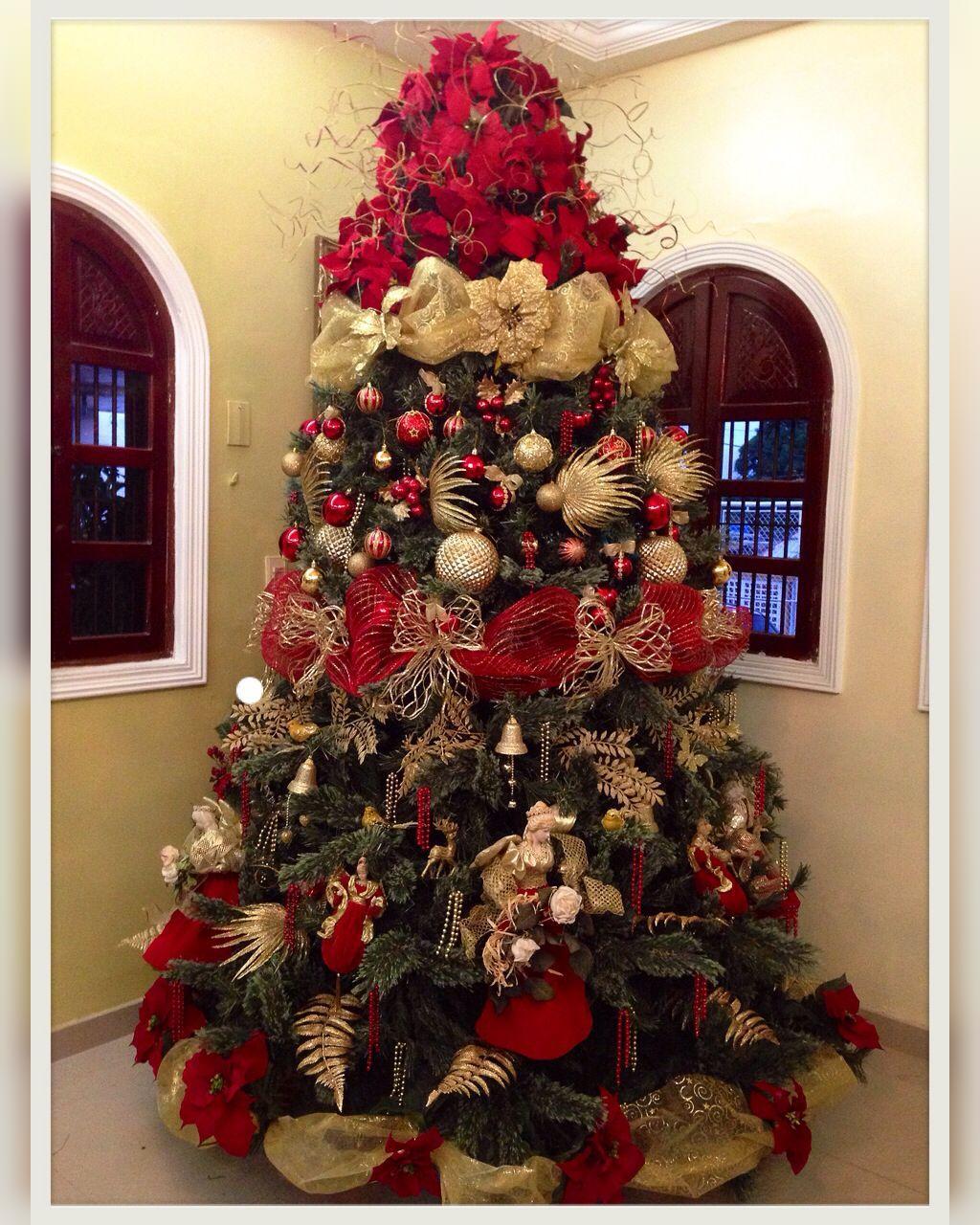 عکس درخت کریسمس لاکچری جدید در خانه
