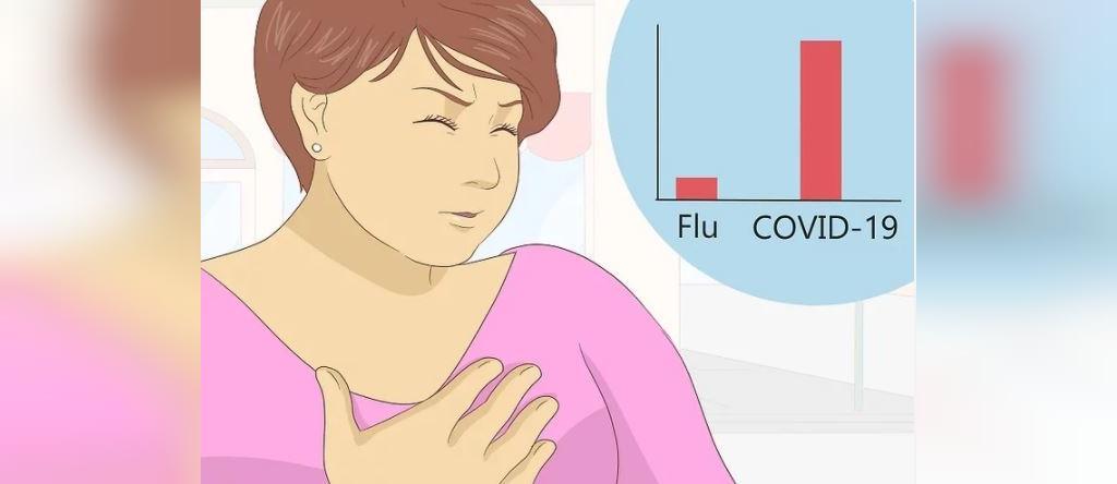 فرق بین آنفولاانزا و کوید-19