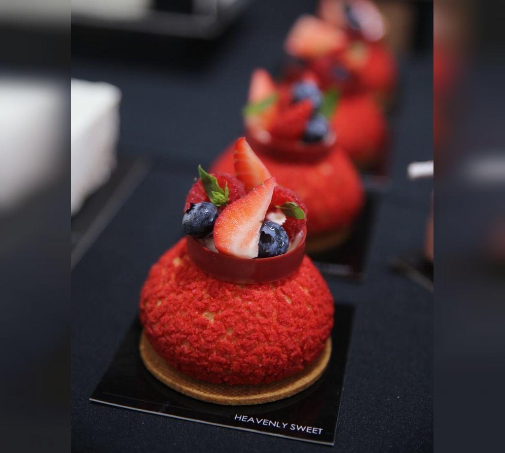 عکس ایده تزیین شیرینی شب یلدا برای مهمانی