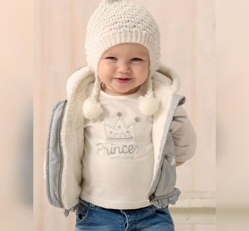 مدل کلاه بافتنی نوزاد شیک و ساده