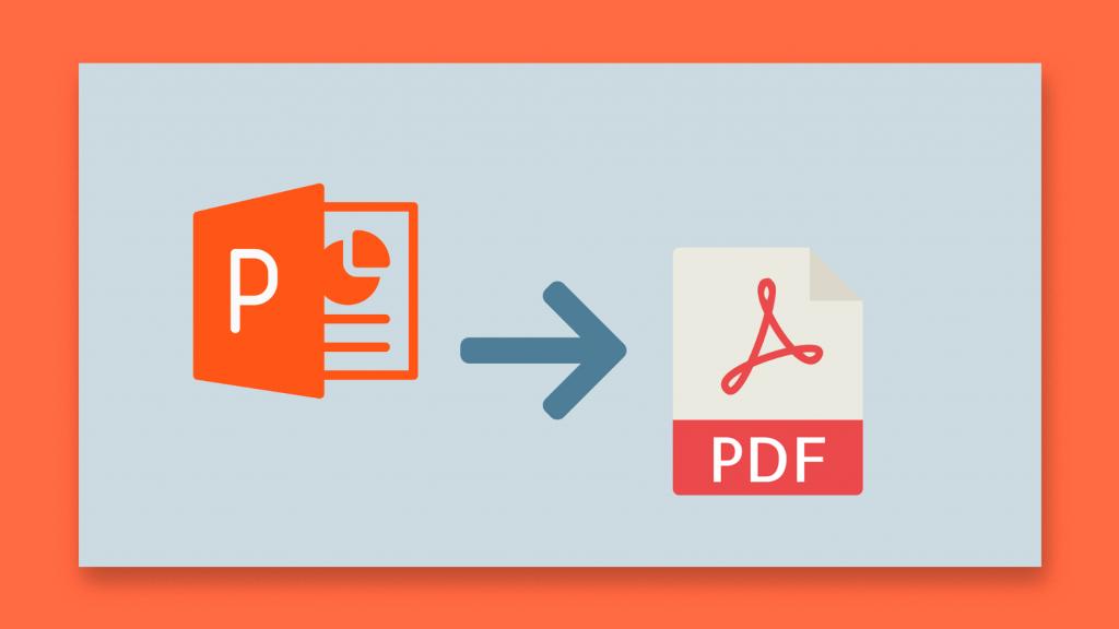 آموزش تصویری تبدیل فایل های پاورپوینت به صورت PDF