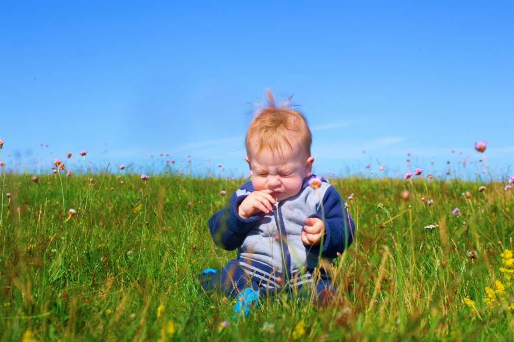 علل بروز حساسیت فصلی در نوزادان و کودکان نوپا