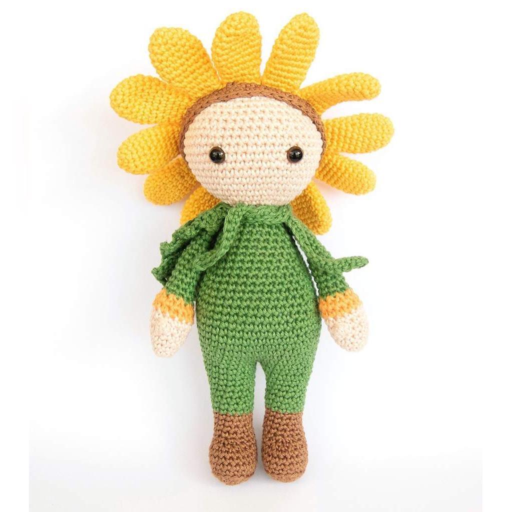 مدل دسته گل بافتنی عروسکی