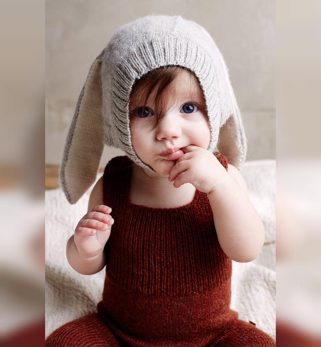 مدل ژورنال کلاه بافتنی نوزادی طرح خرگوش
