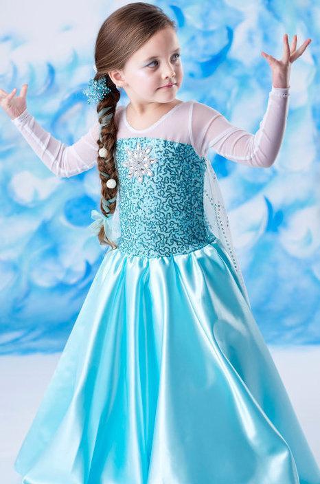 لباس السا و انا برای کودکان
