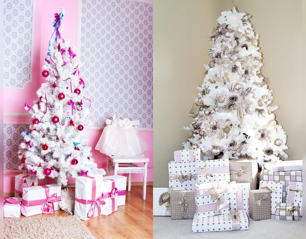 مدل تزیین درخت کریسمس جدید
