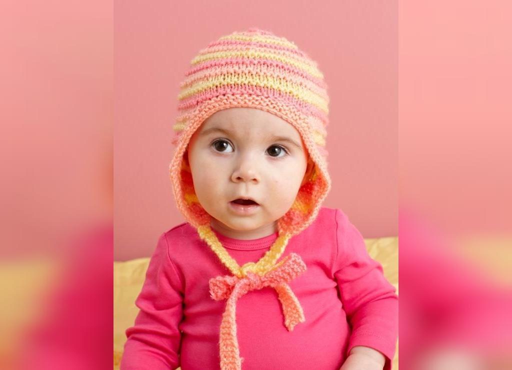 مدل ژورنال کلاه بافتنی نوزادی فانتزی