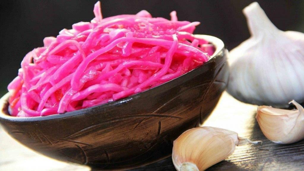 طرز تهیه ترشی کلم قرمز خوشمزه مجلسی خانگی به سبک رستورانی