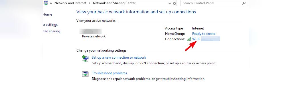 متصل شدن به وای فای مخفی در ویندوز 10