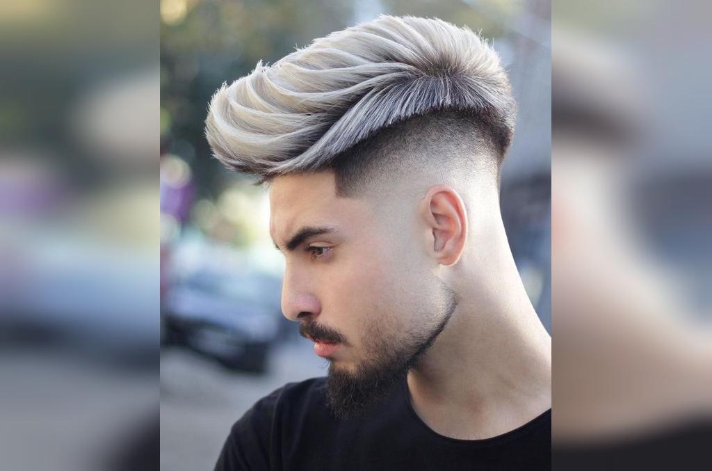 مدل مو پسرانه خامه ای کوتاه