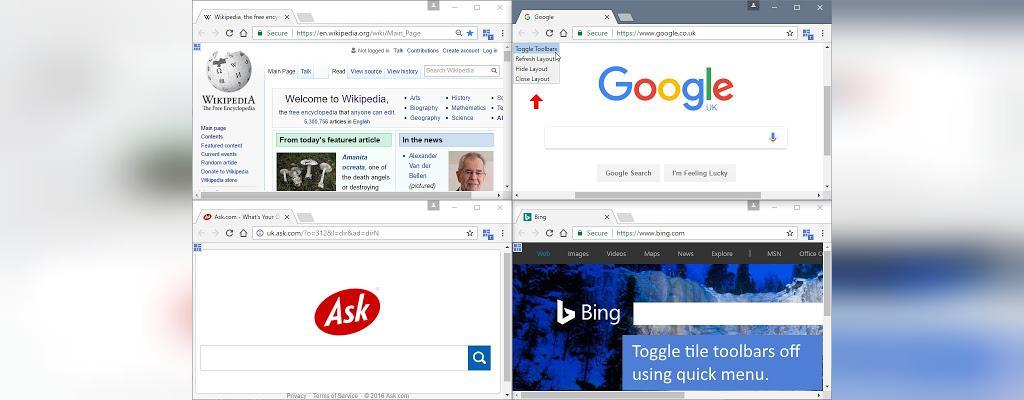 تقسیم کردن صفحه نمایش در ویندوز 10