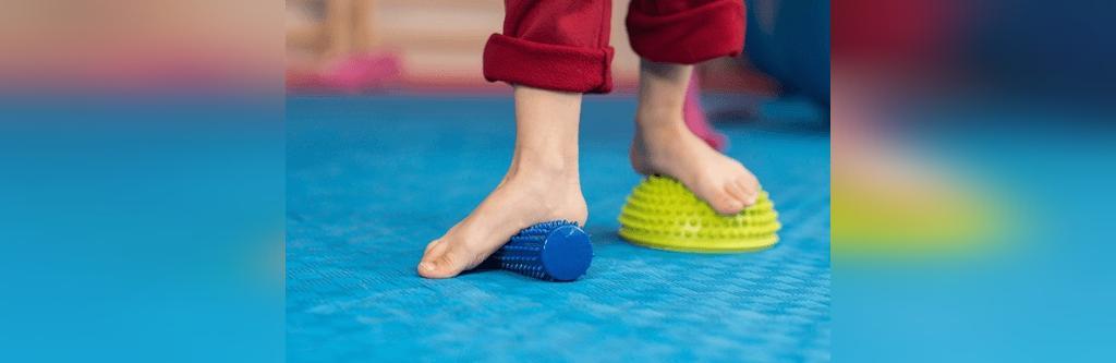 تمرینات برای صافی کف پا