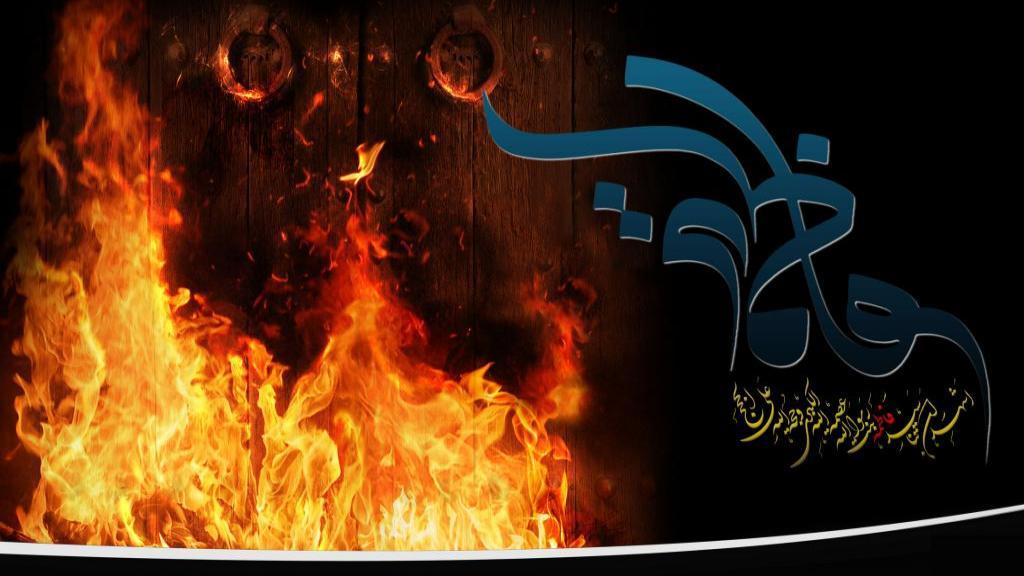 تصاویر کودکانه و عکس نقاشی درباره شهادت حضرت فاطمه زهرا سلام الله علیها