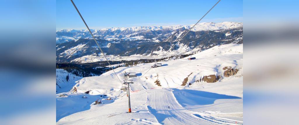 پیست جدید اسکی در گادردزی(Goderdzi) واقع در گرجستان
