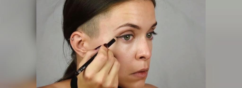چگونه با آرایش چشمان بزرگ و درشت داشته باشیم