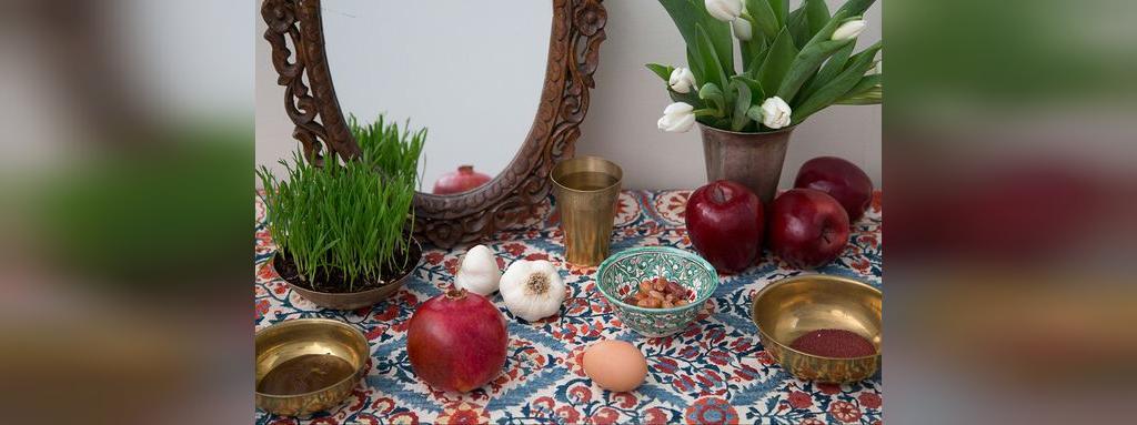 تزیین سفره هفت سین سنتی و ساده