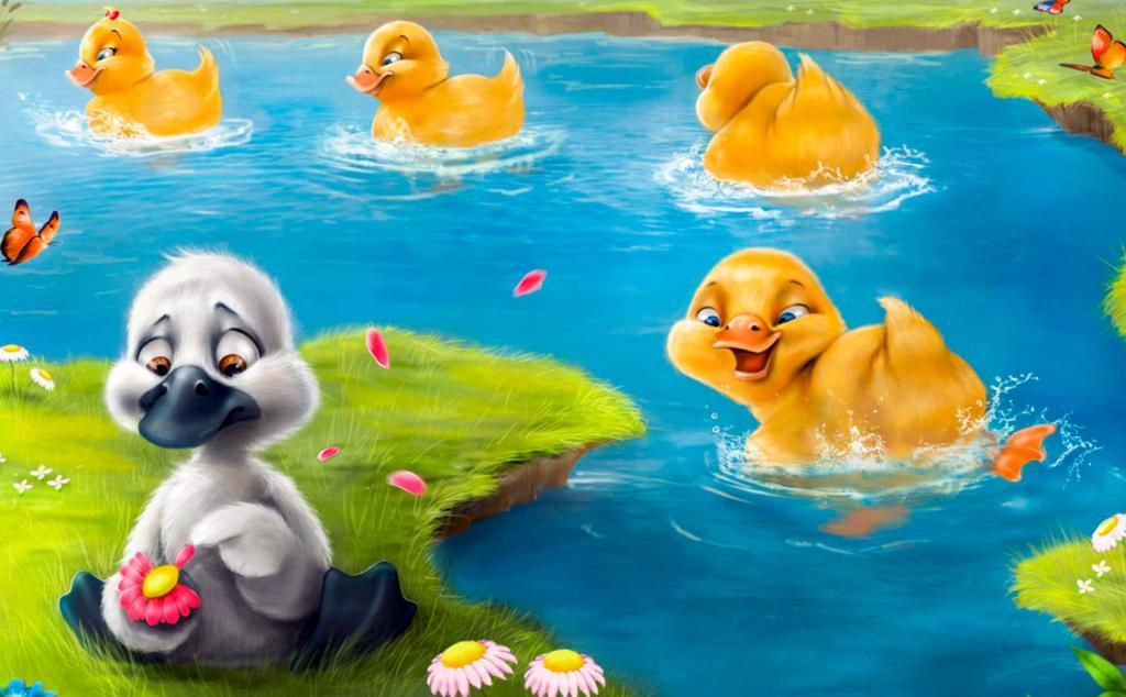 جوجه اردک زشت برای کودکان