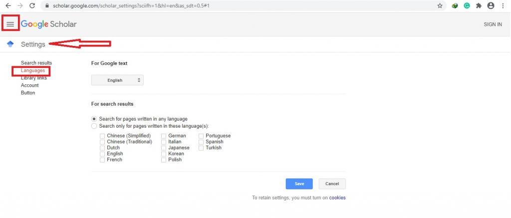 گوگل اسکولار فارسی