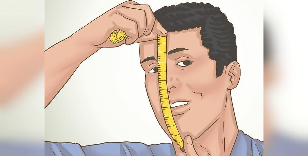 روش اندازه گیری طول صورت در تشخیص شکل صورت