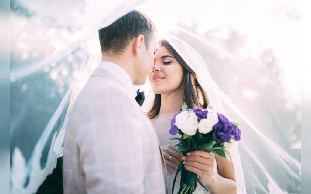 عکس جدید عروس و داماد خارجی