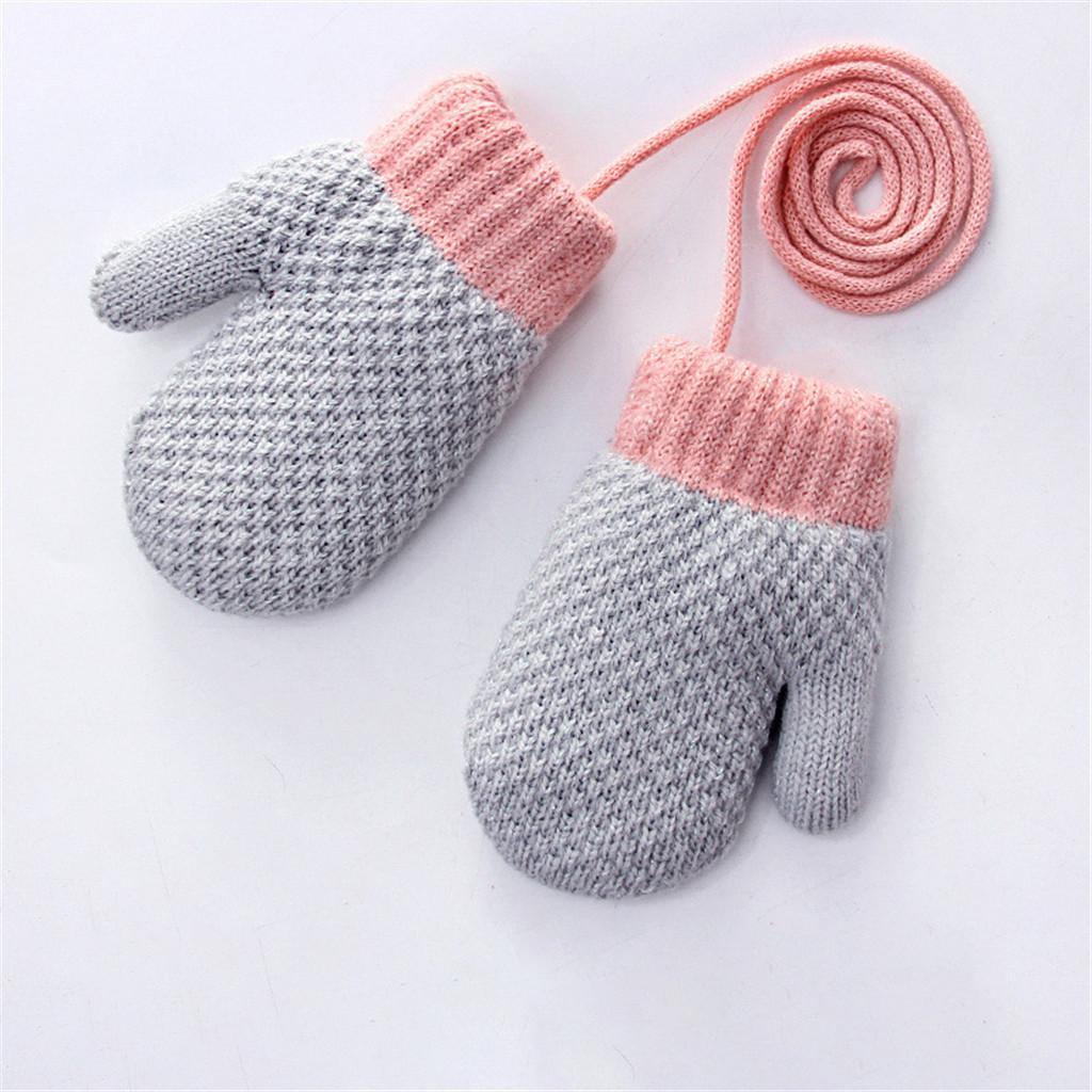 مدل دستکش بافتنی دخترانه فینگر لس