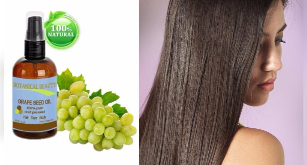 خواص روغن هسته انگور برای سلامت مو