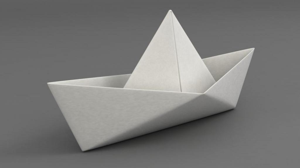 آموزش کامل و تصویری ساخت قایق کاغذی