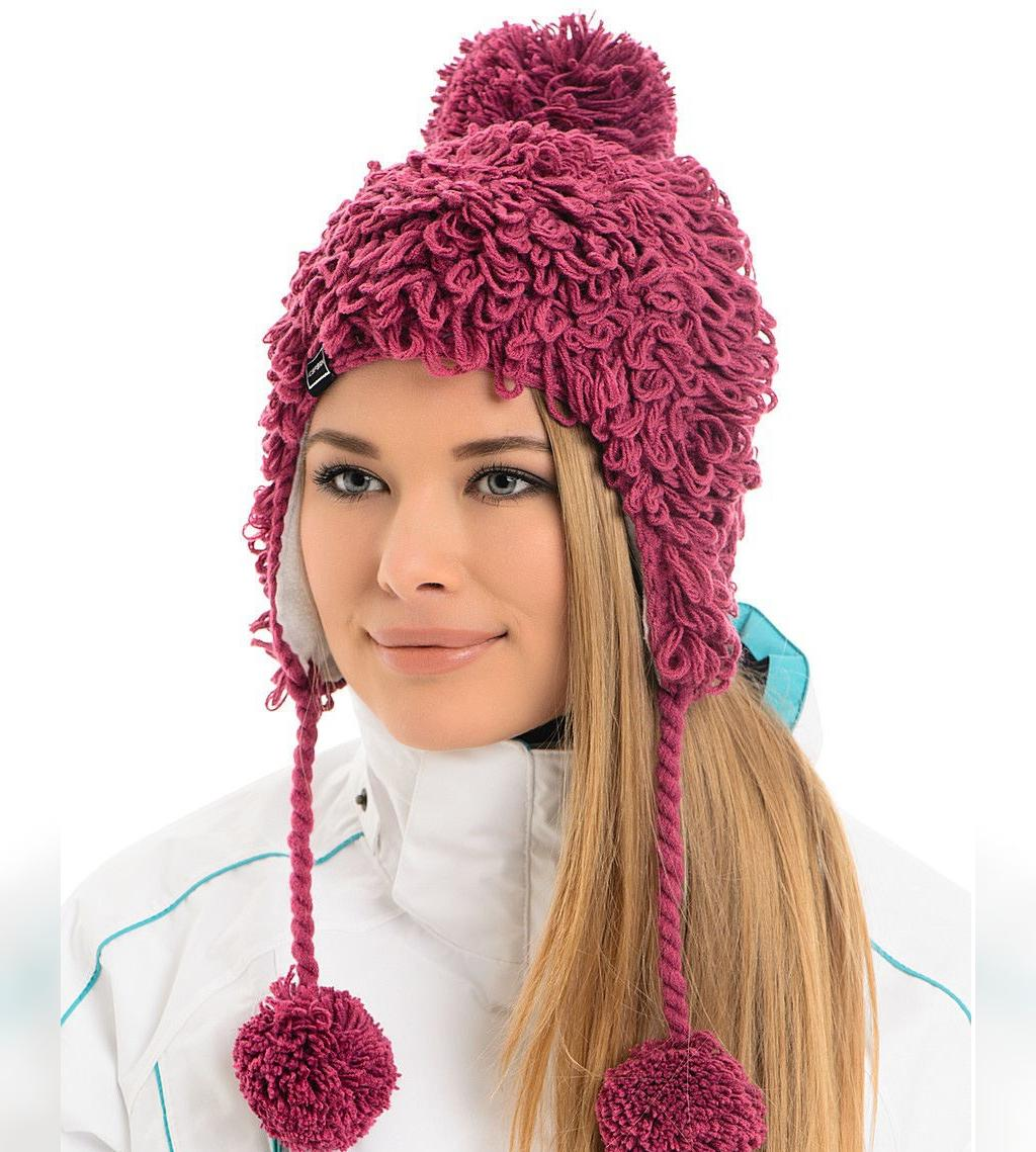 مدل کلاه بافتنی زنانه با کاموا