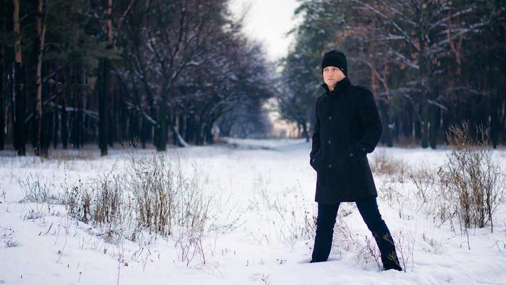 عکس پروفایل زمستانی شیک مردانه