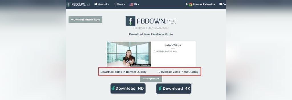 نحوه دانلود ویدئوهای فیس بوک در اندروید
