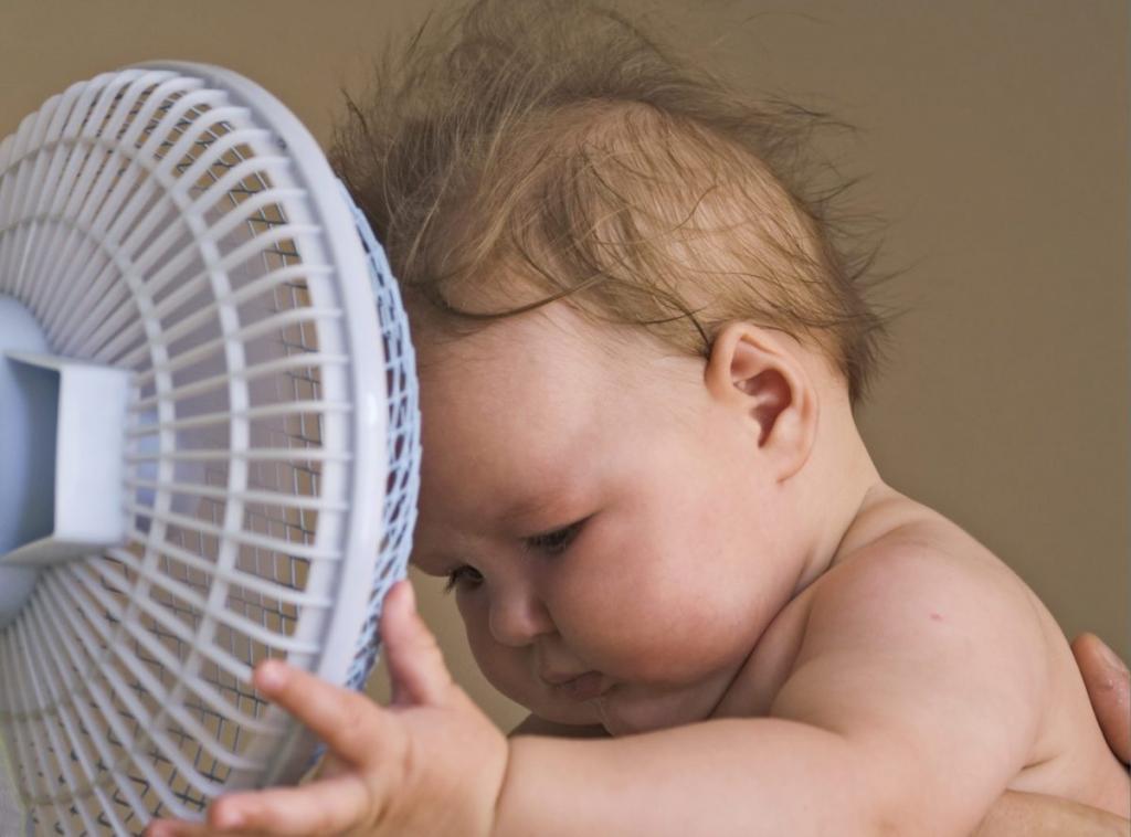 نکات مهم در پیشگیری از گرمازدگی نوزاد