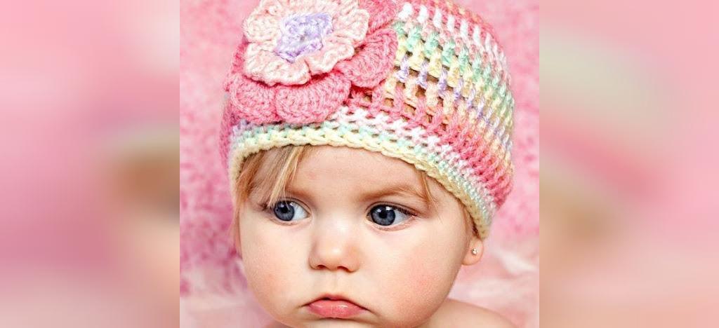 مدل جدید هدبند نوزاد دختر