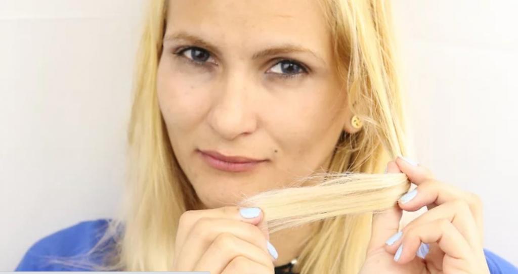 استفاده از موس مو برای حالت دادن موی زنان