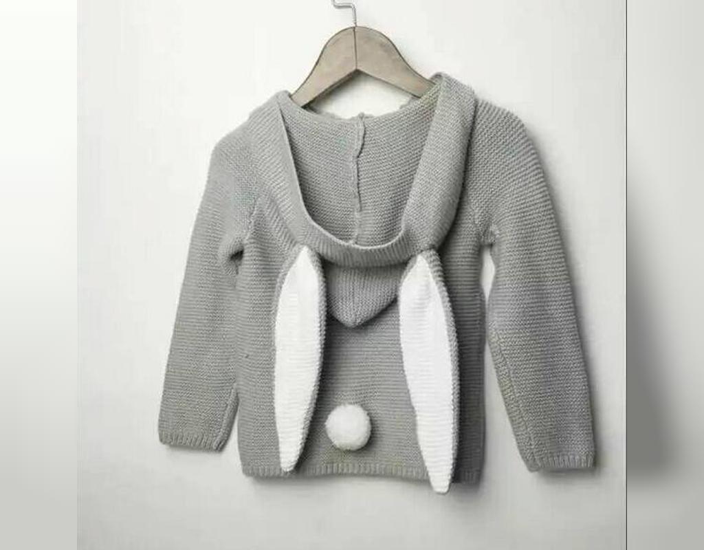 لباس بافتنی نوزاد پسرانه مدل سویشرت