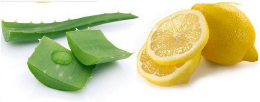 ماسک ضد جوش آلوئه ورا و لیمو