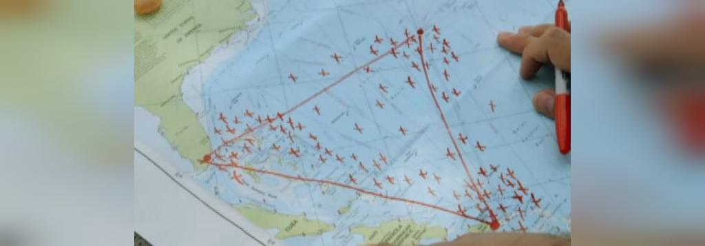 مثلث برمودا منطقه پرتردد دریایی